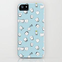 Teeth pattern iPhone Case