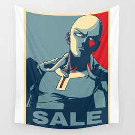 "Saitama ""Sale"" Wall Tapestry"