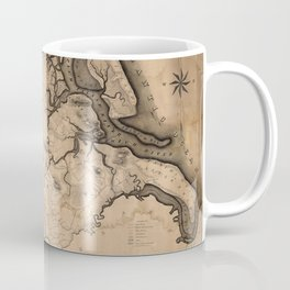 Map of Ipswich 1832 Coffee Mug