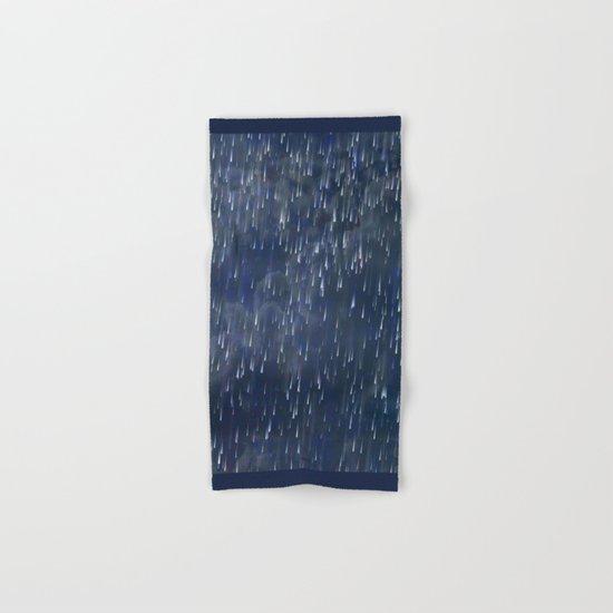 Raining Blue / Autumn 13-10-16 Hand & Bath Towel