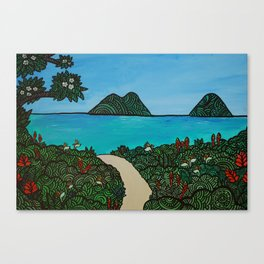 Mana'o Makai  Canvas Print