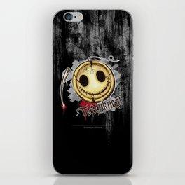 Totenknopf iPhone Skin