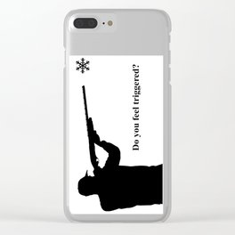 Do you feel triggered? Clear iPhone Case