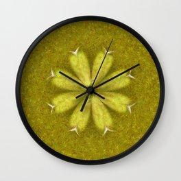 Kopophobia Symmetry Flowers  ID:16165-150104-75070 Wall Clock