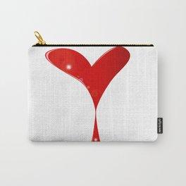 Bleeding Heart Carry-All Pouch
