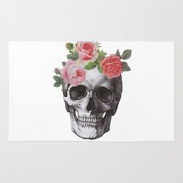 Skull & Roses Rug