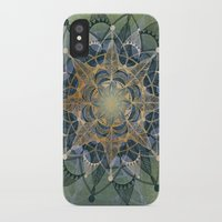 chakra iPhone & iPod Cases featuring Heart Chakra by brenda erickson