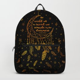 Saved and Remade - gold Backpack