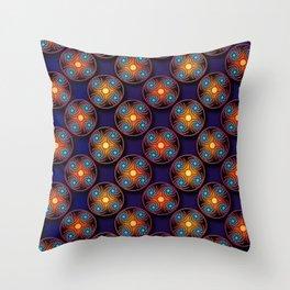 Astro III Throw Pillow