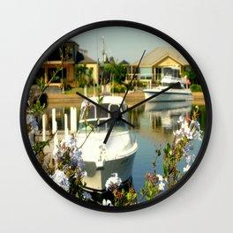 Backyard Bliss - Paynesville - Australia Wall Clock