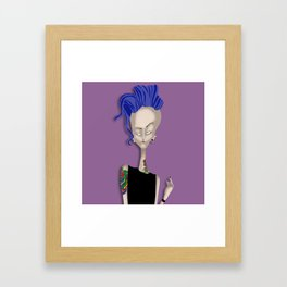 Mrs Ink Framed Art Print