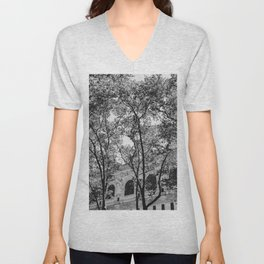New York Library II Unisex V-Neck