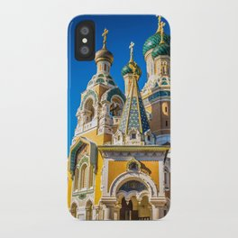 Russian Orthodox Cathedral, Nice France iPhone Case