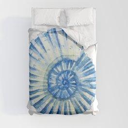 Blue Sea Snail Comforters