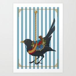 Carousel Hearts: Amsellus Art Print