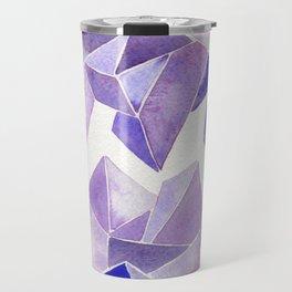 Amethyst Watercolor Travel Mug
