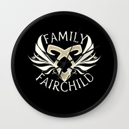 family fairchild Wall Clock