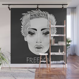 HE SHE (white collection) Wall Mural