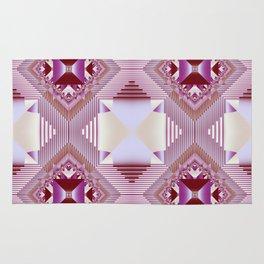 Modern geometric pattern design Rug