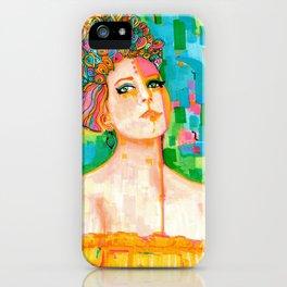 Kelsey Reyé Portrait of Lady iPhone Case