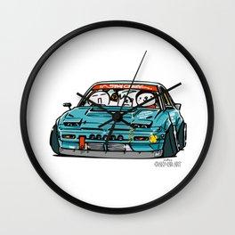 Crazy Car Art 0156 Wall Clock