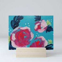 Pink Peonies Mini Art Print