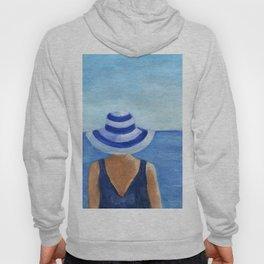 Girl at the sea Hoody
