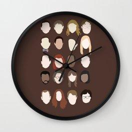 the office minimalist poster Wall Clock