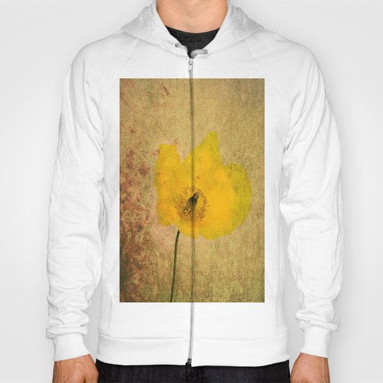 Antique Yellow Flower Hoody