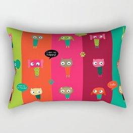 Little friends Rectangular Pillow