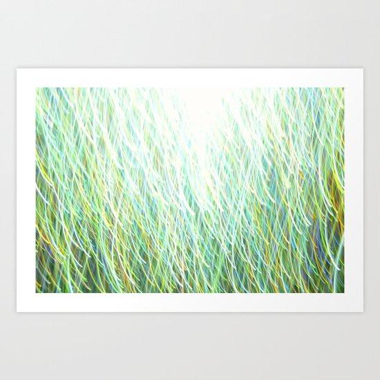 Glitter 0770 Art Print