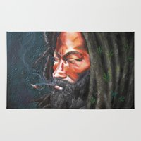 rasta Area & Throw Rugs featuring Rasta by Bocese