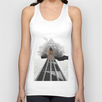 bass Tank Tops featuring bass by Ilenia Locci