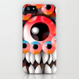 Eyeball Monster iPhone Case