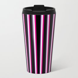 Between the Trees Black, Pink & Purple #259 Travel Mug