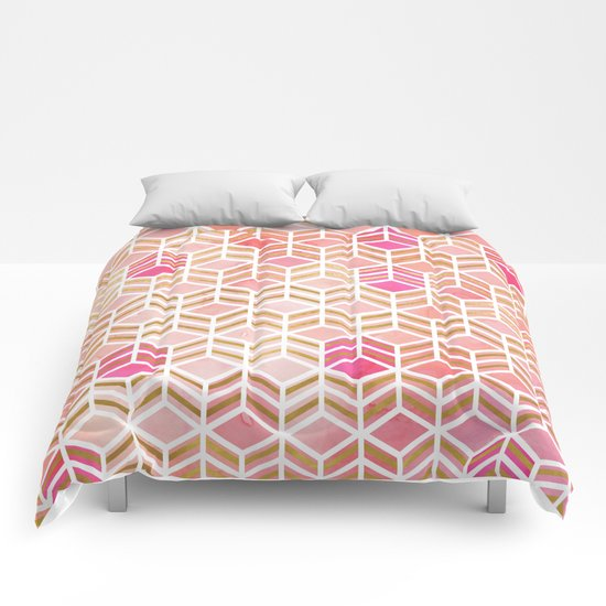 TAKE THE CAKE - CORAL Comforters