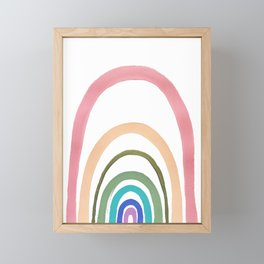 Rainbow Fairyland Framed Mini Art Print