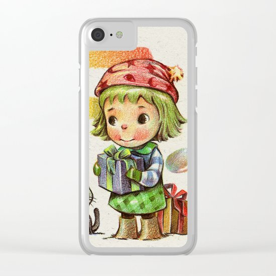 Thank you (Buyer & follower) Clear iPhone Case
