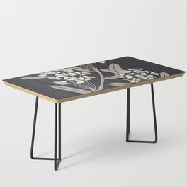 Boho Botanica Black Coffee Table