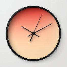 FLESH / Plain Soft Mood Color Blends / iPhone Case Wall Clock
