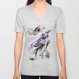 Fashion Painting #3 Unisex V-Neck