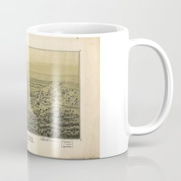 Aerial View of Alvord, Texas (1890) Coffee Mug