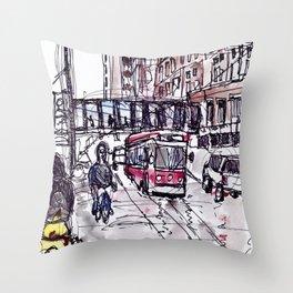 511 Bathurst Throw Pillow