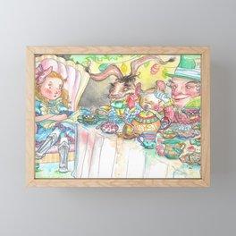 Alice's Mad Tea Party Framed Mini Art Print