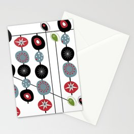 Mid-Century Modern Art Atomic Cocktail 2.0 Stationery Cards