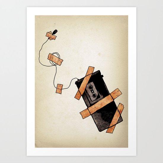 Snitch Art Print