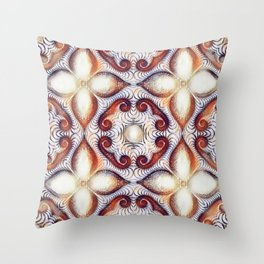 Bloom of Omnis: Contemplation Throw Pillow
