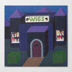 The Wigs Castle Canvas Print