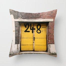 Yellow Door 248 Throw Pillow