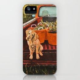 Farm Dog iPhone Case